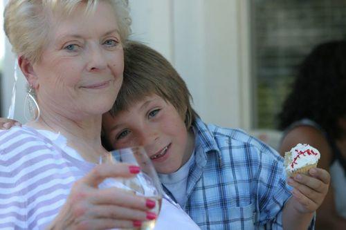 Grandma and bobby