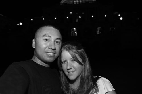 us @ the capitol @ night