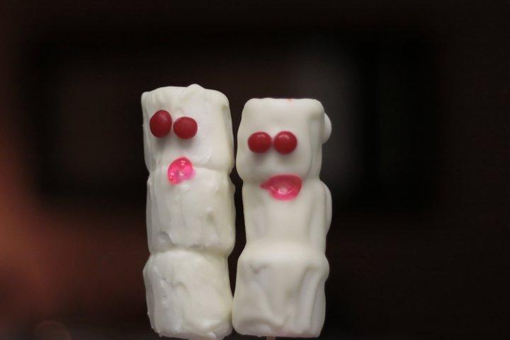 Marshmallow goblins