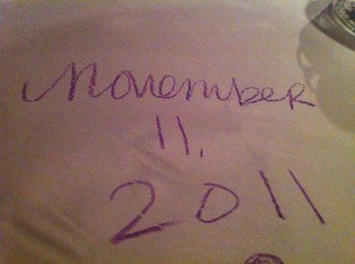 November 11, 2011