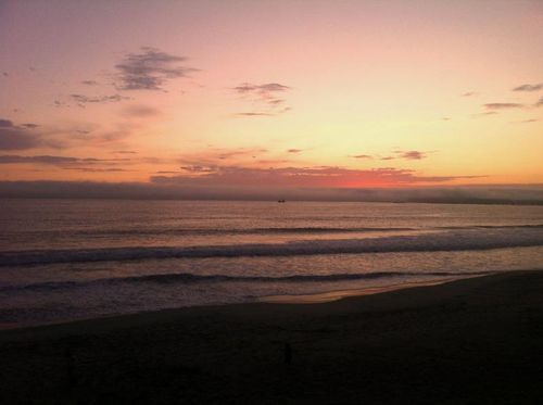 Sunset in Half Moon Bay September 2011