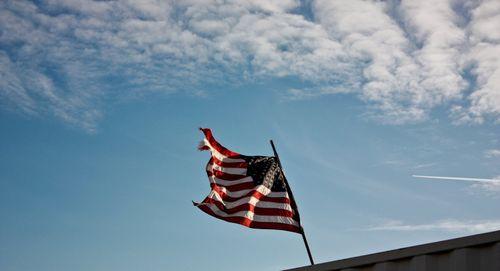 flag with sun